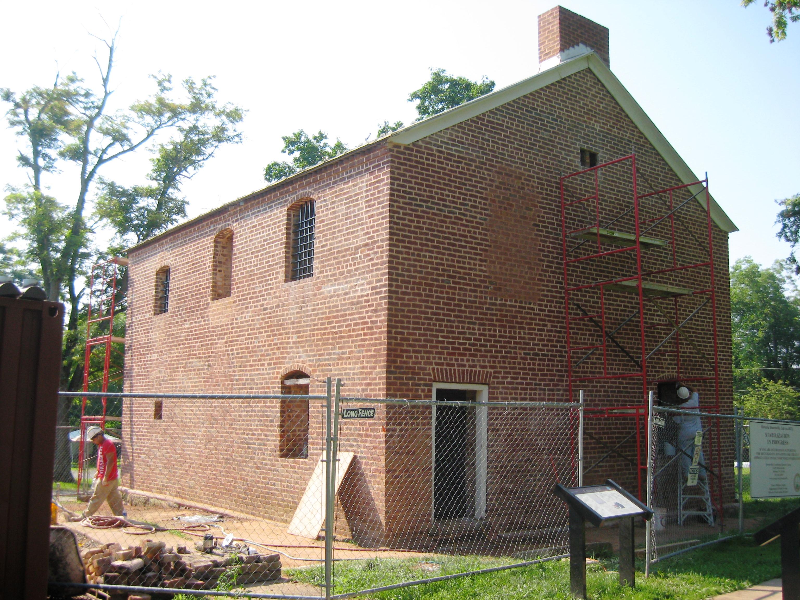 Brentsville Jail House Restoration (2)