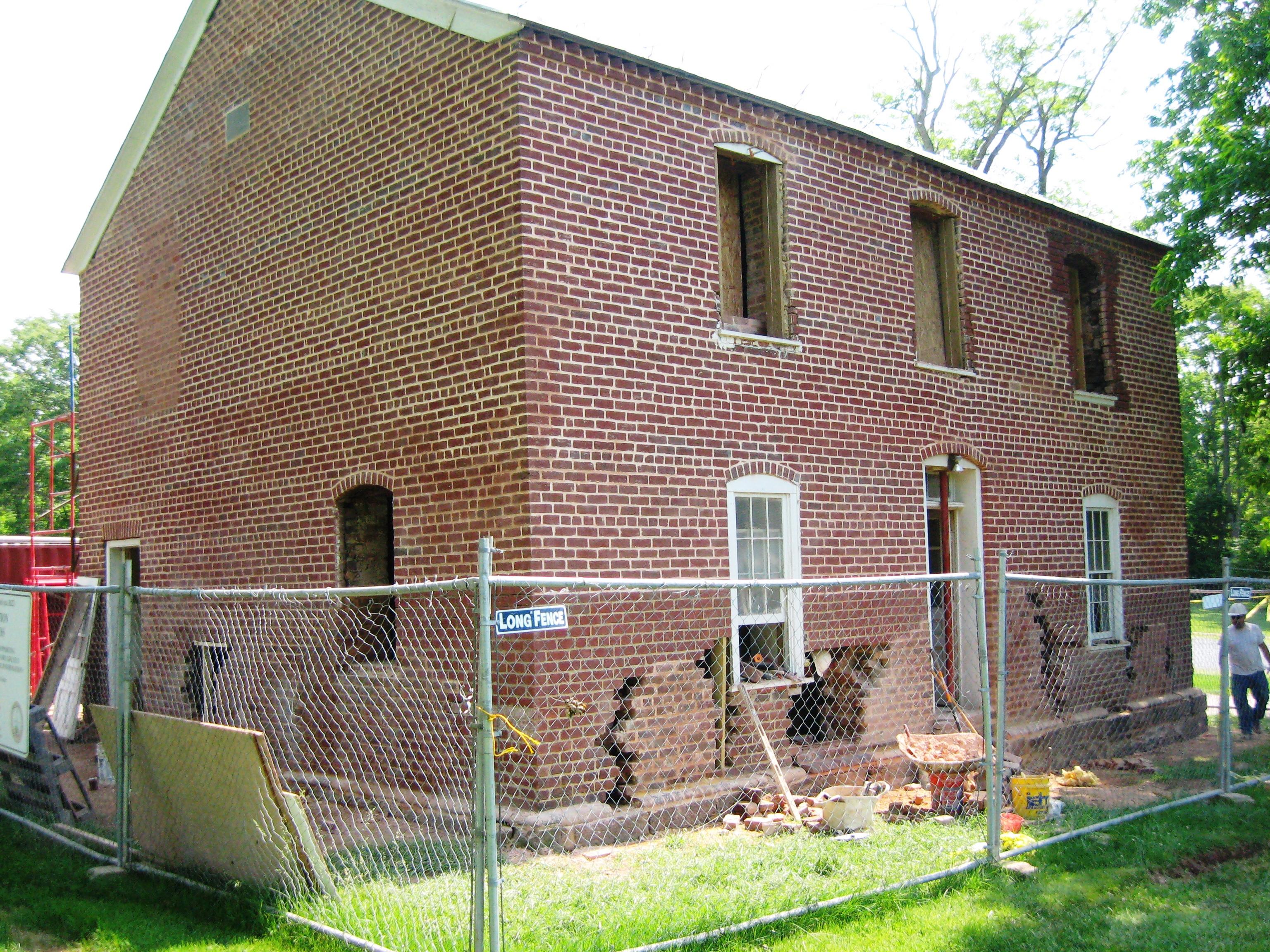 Brentsville Jail House Restoration (4)